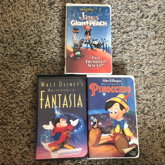 Disney Other - Disney VHS tapes